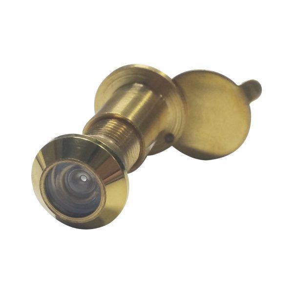 Zurilo ø 12 mm, širokokutna 90°, debljina vrata 15 – 25 mm, polirani mesing