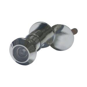 Zurilo ø 12 mm, širokokutna 170°, debljina vrata 35 – 55 mm, kromirani mesing