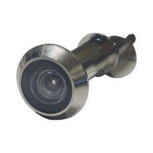 Zurilo ø 14 mm, širokokutna 200°, debljina vrata 35 – 55 mm, pon. mesing, mat