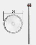 REZNA PLOČA DIAMANT 20x0,6mm SA DRŽAČEM, PROXXON