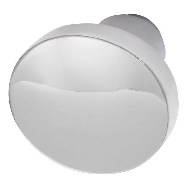 Kugla za vrata, ravni oblik, ø 45 mm, aluminij polirani, GRUNDMANN