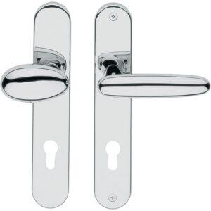 Kvaka za vrata/kugla ITALA/H1731 sa štitom PZ92, DV-70, desna, VALLI&VALLI