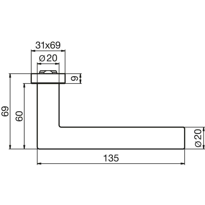 DV005 skiz DORMA Premium 8906 Edelstahl 0