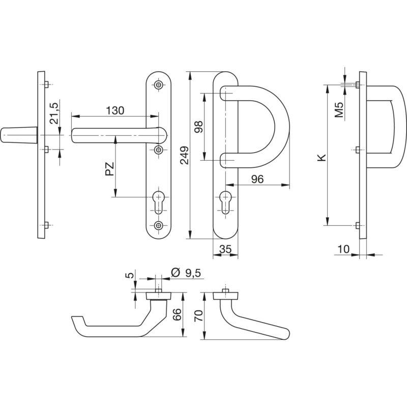 DV005 skiz knopfgarnitur 35 1200 P 0