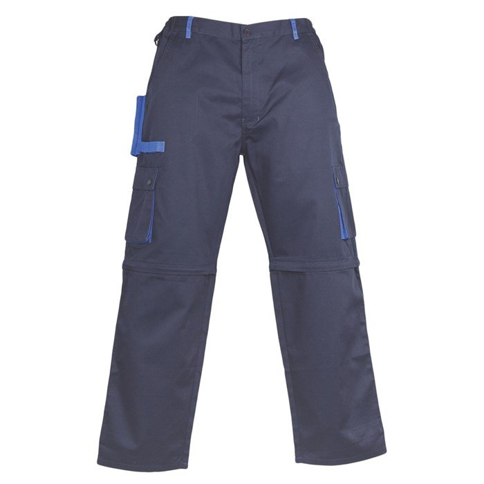 Radne   hlače 2u1 CLASSIC PLUS tamno plave/royal