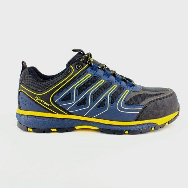 Zaštitna   cipela niska DYNAMIC S1P, plava