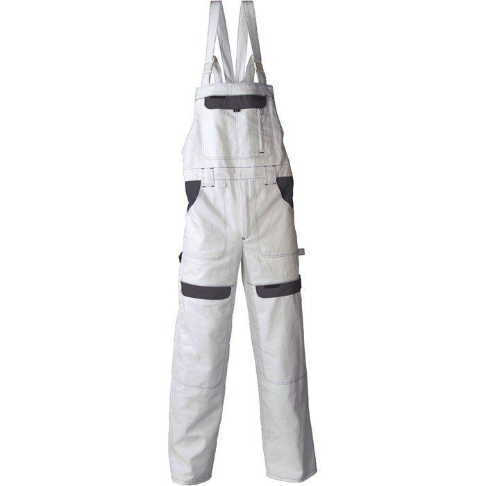Radne   farmer hlače COOL TREND bijelo-sive