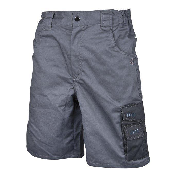 Radne   hlače kratke 4TECH sivo-crne