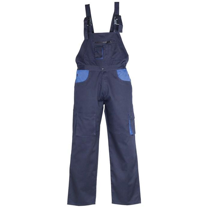 Radne   farmer hlače CLASSIC PLUS tamno plave/royal