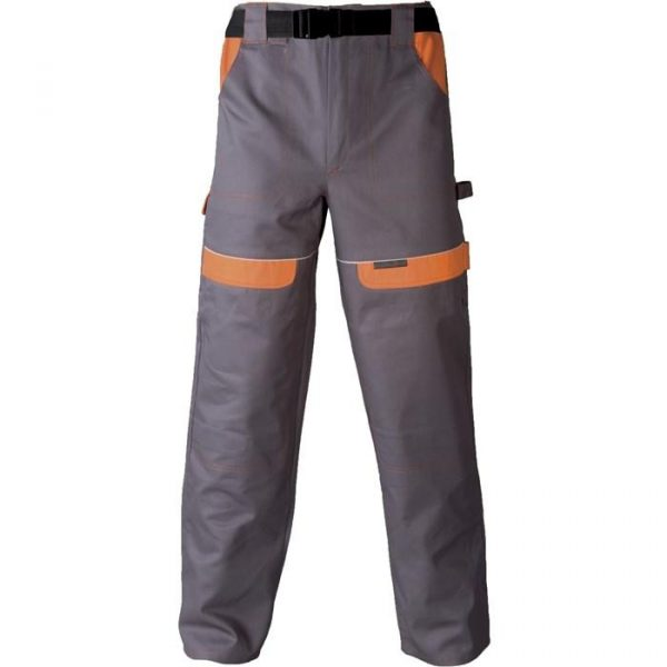 Radne   hlače COOL TREND sivo-narančaste