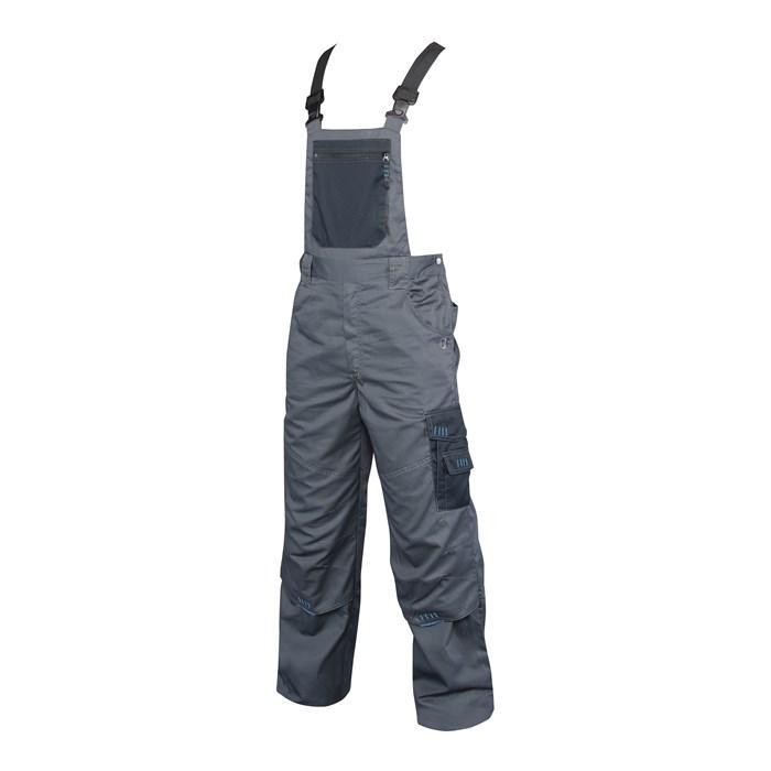 Radne   farmer hlače 4TECH sivo-crne