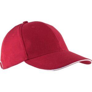 Kapa šilt Orlando crvena/bijela