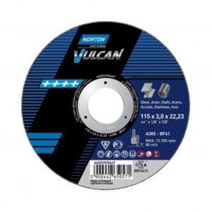 Norton VULCAN za rezanje pod pravim kutom brusilice na METAL INOX 115x1,0x22,23