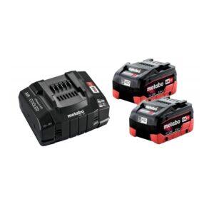 Metabo Akumulatorski komplet Basic SET 2×5,5Ah LiHD SE