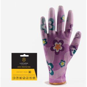 FLORA Vrtna rukavica roza vel 8